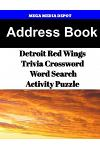Address Book Detroit Red Wings Trivia Crossword & Wordsearch Activity Puzzle