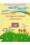 Farmer Doo's Farmyard Animal Adventures: Colouring Book