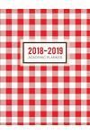2018-2019 Academic Planner: Gingham Aug 2018 - July 2019 -- Weekly View -- To Do Lists, Goal-Setting, Class Schedules + More