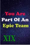 You Are Part Of An Epic Team XIX: Coworkers Gifts, Coworker Gag Book, Member, Manager, Leader, Strategic Planning, Employee, Colleague and Friends.