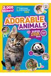 National Geographic Kids Adorable Animals Super Sticker Activity Book: 2,000 Stickers!