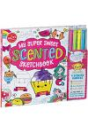 My Super Sweet Scented Sketchbook: Sketch & Sniff the World's Most Adorable Art! [With 4 Scented Markers]