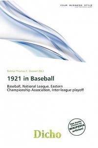 1921 in Baseball