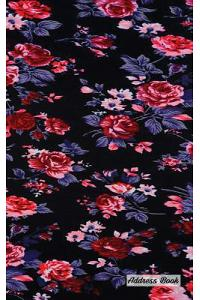 Address Book: 5 X 8, Blank Address Book, Contacts, Addresses, Durable Cover, 100 Pages, Floral (8)