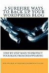 3 Surefire Ways to Back Up Your WordPress Blog: Step-by-Step Ways to Protect Your Blog from Disappearing