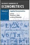 Palgrave Handbook of Econometrics: Volume 1: Econometric Theory