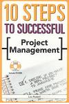 10 Steps to Successful Project Management [With CDROM]