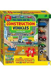 Pull-back-and-go: Construction Vehicles