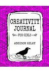 Creativity Journal for Girls: A Notebook to Write in and Color Diary Keepsake