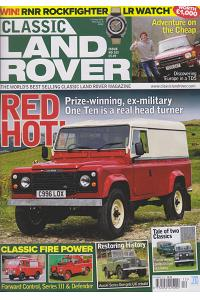 Classic Landrover - UK (6-month)
