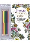 The Creative Coloring Book (Book & Colored Pencils Set): Inspiring Images to Unlock Your Imagination