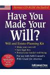 Have You Made Your Will?: Will and Estate-Planning Kit [With CDROM]