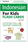 Indonesian For Kids Flash Cards