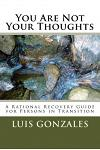 You Are Not Your Thoughts: A Self-Directed Transformational Guide for Persons in Early Recovery Fro Addictive Disorders