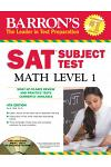 Barron's SAT Subject Test Math Level 1 with CD-ROM, 4th Edition (Barron's SAT Subject Test Math Level 1 (W/CD)...