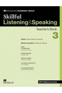 Skillful Listening and Speaking Teacher's Book + Digibook + Audio CD Level 3