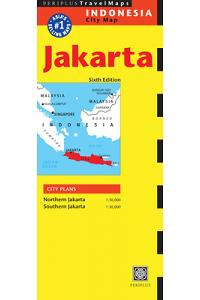 Jakarta Travel Map Sixth Edition (Periplus Travel Maps)