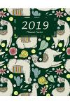 2019 Planner Cactus: Weekly and Monthly Planner, 12 Months Calendar Schedule Organizer with to Do List, Inspirational Quotes and U.S Holida