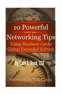 10 Powerful Networking Tips Using Business Cards Global Extended Edition