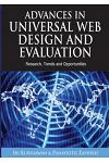 Advances in Universal Web Design and Evaluation: Research, Trends and Opportunities