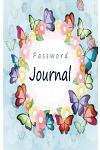 Password Journal: An Internet Password Organizer (Butterflies & Flowers