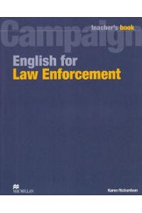 English for Law Enforcement: Teacher Book