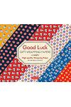 Good Luck Gift Wrapping Papers: 6 Sheets of High-Quality 24 X 18 Inch Wrapping Paper