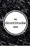 Daily Gratitude Journal - Black Marble Cover: (6 X 9) Personalized Gratitude Journal, 100 Lined Pages, Durable Matte Cover