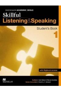 Skillful Listening and Speaking Student's Book + Digibook Level 1