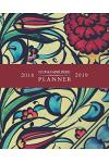 2018 2019 Stone Paper Press Planner: Weekly and Monthly Schedule/Calendar Sept 2018 - Dec 2019 Blue Red Yellow Flower Mosaic