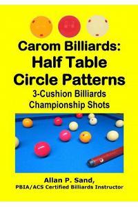 Carom Billiards: Half Table Circle Patterns: 3-Cushion Billiards Championship Shots