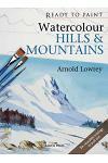 Watercolour Hills & Mountains