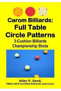 Carom Billiards: Full Table Circle Patterns: 3-Cushion Billiards Championship Shots