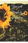 You will always be my sunshine...