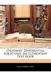 Ordinary Differential Equations: An Elementary Text Book