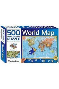 Puzzlebilities World Map : 500 Piece Jigsaw Puzzle