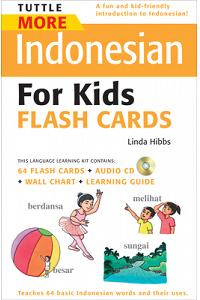 More Indonesian For Kids Flash Cards