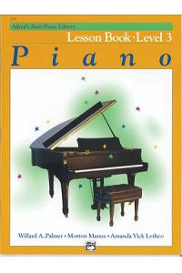 Alfred's Basic Piano Library Lesson Book, Bk 3