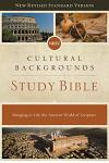 Nrsv, Cultural Backgrounds Study Bible, Hardcover, Comfort Print: Bringing to Life the Ancient World of Scripture
