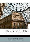 ... Handbook, 1910