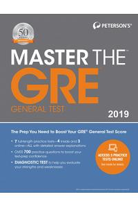 Master the GRE 2019