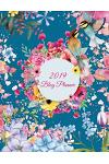 2019 Blog Planner: Pretty Water Color Flowers, 2019 Weekly Monthly Planner, Daily Blogger Posts for 12 Months, Calendar Social Media Mark