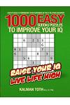 1000 Easy Sudoku Puzzles to Improve Your IQ