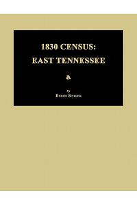 1830 Census: East Tennessee