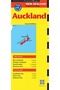Auckland Travel Map Second Edition (Australia Regional Maps)
