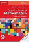 Checkpoint Mathematic Teacher Resources 9
