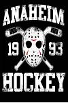 Anaheim 1993 Hockey: Lined Notebook Journal to Write in