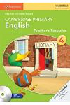 Cambridge Primary English Stage 4 Teacher's Resource Book [With CDROM]