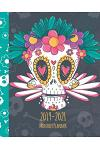 2019-2021 Monthly Planner: Colorful Skull Cover, Monthly Calendar 36 Months Calendar Agenda Planner with Holiday 8 X 10
