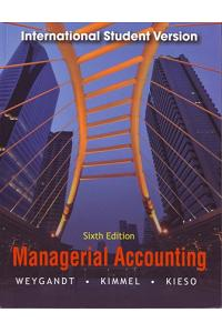Managerial Accounting 6ed, International student version